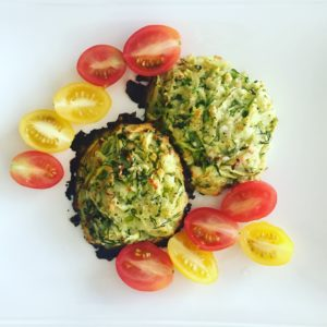 I love the veggie colors of this meatless dish!