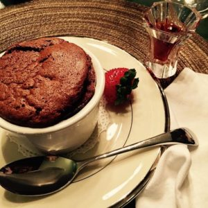 This was my first souffle ever. The photo was taken by my dear friend, Daphne who was my guinea pig for this recipe!