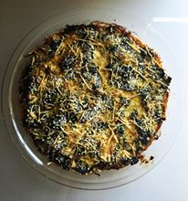 Delicious and healthy, this pie makes great use of greens that you have in the refrigerator just calling out to be cooked!
