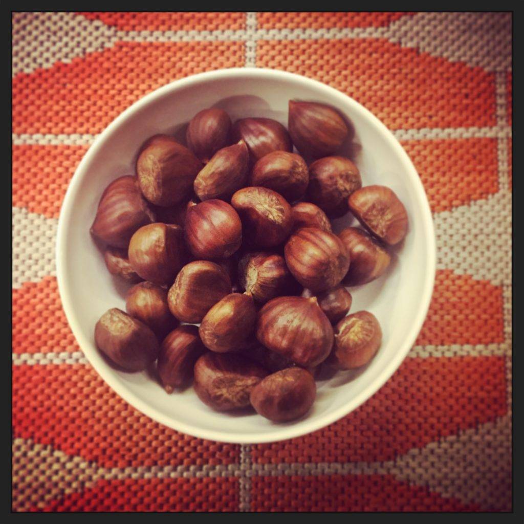 If only chestnuts could talk!