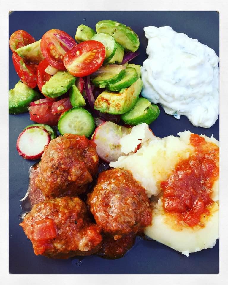Soutzoukakia make a perfect Greek Sunday meal.